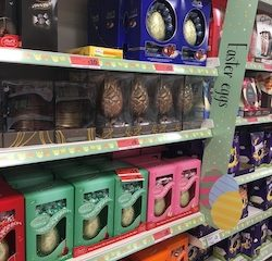 Growing Easter egg aisles reflect continuing fragmentation of UK shoppers, says Bridgethorne