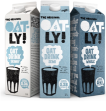 Oatly unveils global roll-out of climate footprints on all packaging