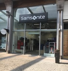 Samsonite opens doors at The Boulevard, Northern Ireland