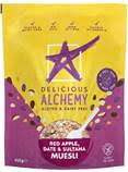 Delicious Alchemy adds two award-winning mueslis to free-from range