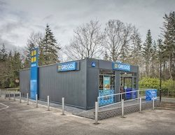 New Greggs store 'pops up' for Euro Garages