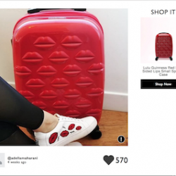 Lulu Guinness launches on-site social commerce