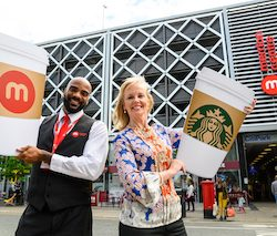 Starbucks makes its 'Grande' debut at the Merrion Centre