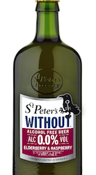 St Peter's launches new 0.0% alcohol fruit beer