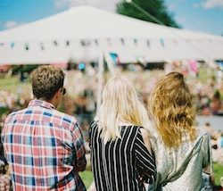 How to brand at outdoor summer events