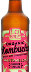 Living drinks brand, Lo Bros,  has launched a limited edition Watermelon Kombucha