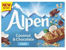 Alpen unveils new design, recipes and flavour