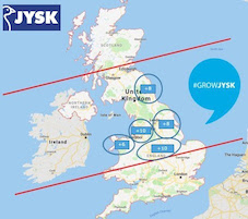 JYSK targets 52 UK stores in five-year plan