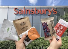 "Sainsbury's shakes up all-natural snacking market with launch of  ""Taste of the Future"" bay"