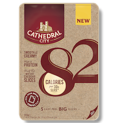 Cathedral City launches  calorie-led cheese range