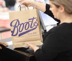 Boots moves to unbleached, brown, paper carrier bags