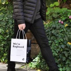 Bagboard, a new alternative to the single use plastic bag for independent retailers in Central London