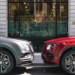 Jack Barclay Bentley and Huntsman, Savile Row reveal bespoke Bentayga
