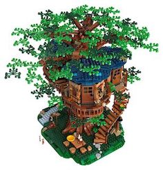 LEGO Treehouse blooming with sustainable bricks