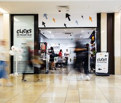 St David's, Cardiff, open Clicks and Mortar pop-up