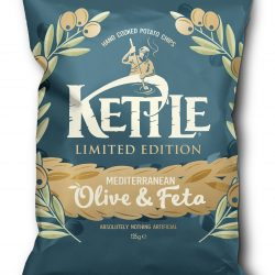 KETTLE Chips to launch Mediterranean Olive & Feta seasoning