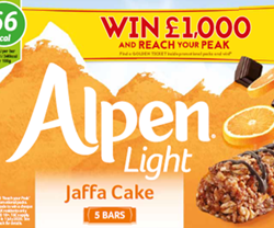 Alpen launches new Reach Your Peak marketing campaign