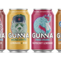 New bold designs and distributor for British craft soft drink