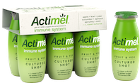 Actimel launches first ever range of Fruit & Veg Cultured Shots