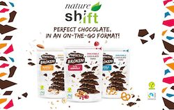 Nature Shift launches 'Perfectly Broken', broken snackable chocolate