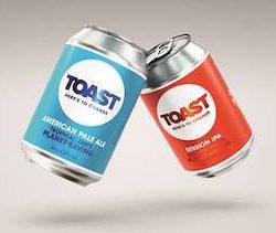 Toast Ale launches cans with bold and purposeful rebrand
