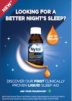NYTOL launches liquid caramel flavour OTC sleep aid