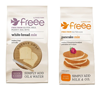 FREEE secures supermarket listing for Gluten Free Baking Mixes