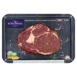 Asda puts Extra Special Aberdeen Angus Steaks in recyclable cardboard trays