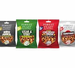 Forest Feast launches limited edition range of rugby-inspired nut mixes