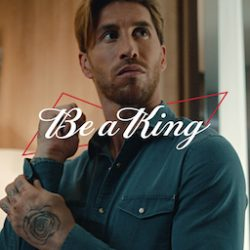 Budweiser celebrates Global Football Champion in latest Beer of Kings campaign