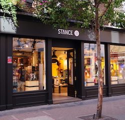 Stance, creative sock and apparel brand, has opened its West End flagship in Carnaby, London