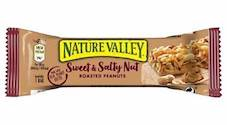 A new look for Nature Valley Sweet and Salty Nut