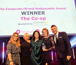 Co-op receives Corporate Brand Ambassador Award