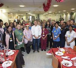 NHS workers served a festive feast by celebrity chef John Torode in One4all Gift Cards campaign