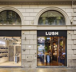 Lush opens two concept shops and second biggest shop in mainland Europe