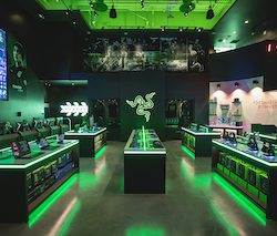 Gamers' brand, Razer, to debut European store in London
