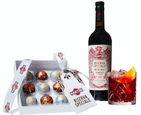 The first Negroni chocolate truffles collection – a Christmas treat from MARTINI & Paul A. Young