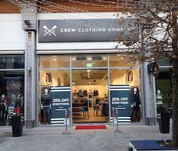 Lotus Group site picked as Crew Clothing's first Irish outlet