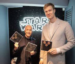 Anthony Daniels and Joonas Suotamo visit fans at D350 Oxford Street