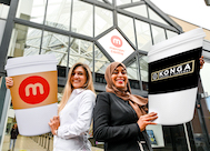 Konga Coffee makes extra hot 'grande' debut at The Merrion Centre