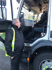 Blakemore Logistics steps up for safer streets