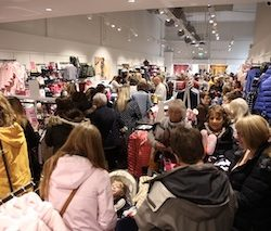 Lincolnshire's Springfields Outlet enjoys record breaking Black Friday