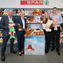 432 festive presents donated by Spar wholesaler for vulnerable children living in poverty