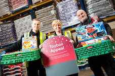 Co-op Christmas Toybox Appeal collects 12,000 presents to hand out to children this festive season 