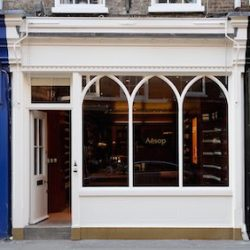 Luxury skincare brand, Aesop, opens in Seven Dials