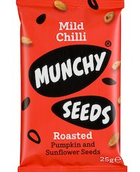 Munchy Seeds launches Mild Chilli snack pack