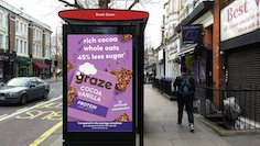 graze launches £1m campaign to promote 45% reduced sugar protein bites