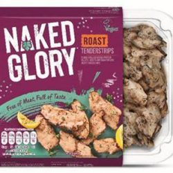 Kerry Foods expands Naked Glory range with meat-free 'Chicken' Tenderstrips