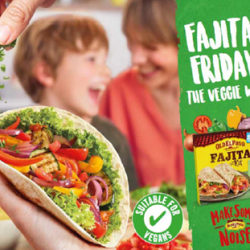 Old El Paso urges consumers to try fajitas 'the veggie way'
