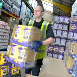 Easter comes early for Central England Co-op customers as chocolate treats fly from the shelves